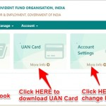 uan passbook at unified member portal epfo